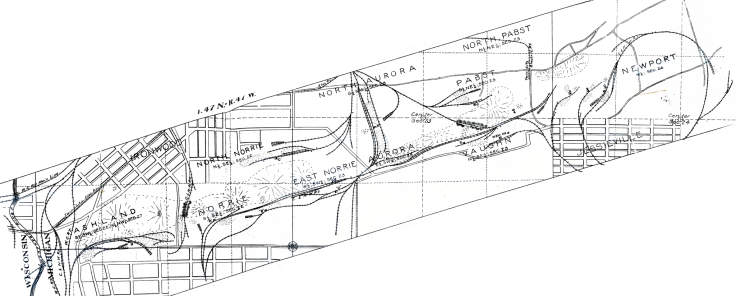 1905 map rotated